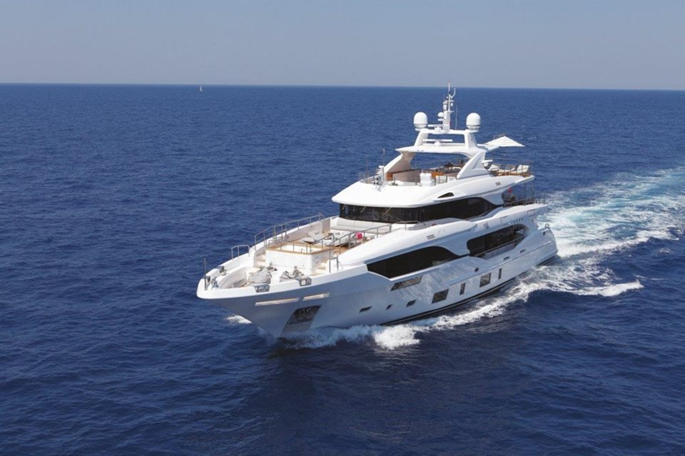 Benetti presents Mediterraneo 116′ M/Y Mr Loui