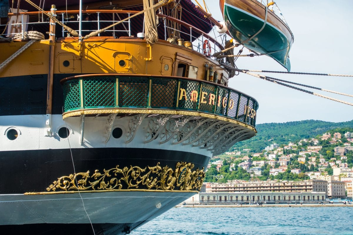 Trieste hosts the Barcolana and the most beautiful ship in the world