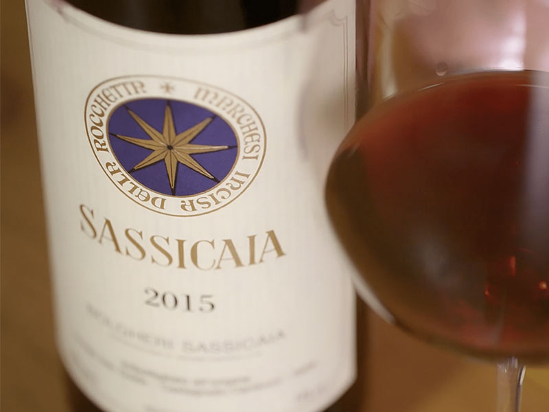 Sassicaia: the best wine in the world comes from Livorno