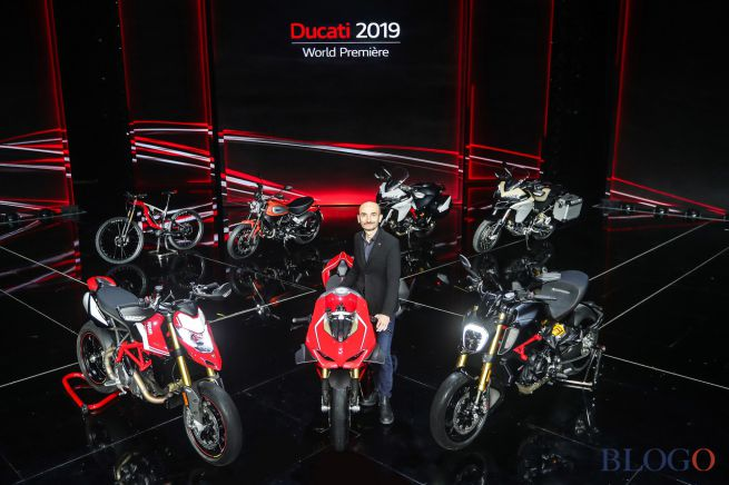 Panigale V4r and all the Ducati's novelties in one special evening