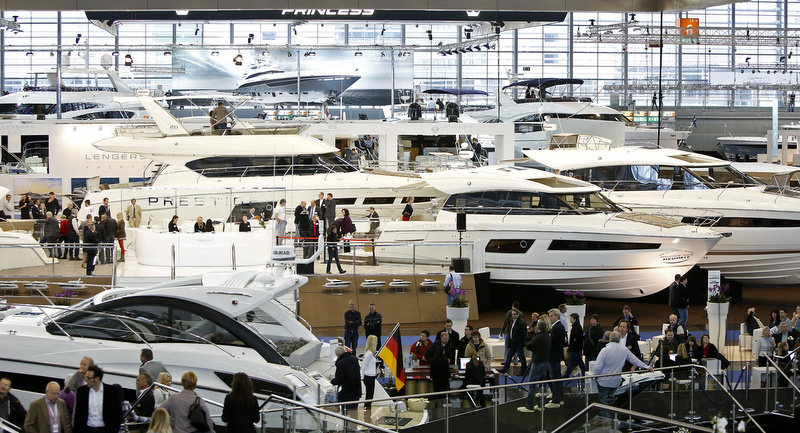 Italian boating at 'Boot Dusseldorf'