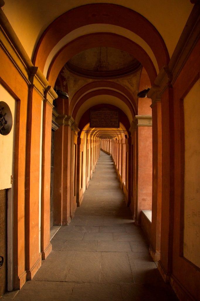 bologna san luca portico italy art emilia romagna travel viaggi