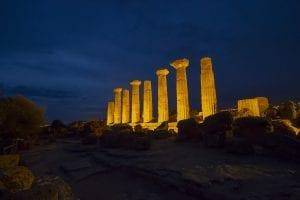 italy landscape valle dei templi agrigento sicily sicilia temple art greek