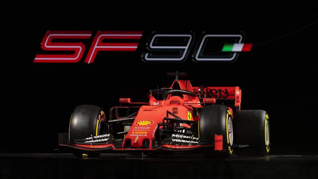 Ferrari unveiled the SF90