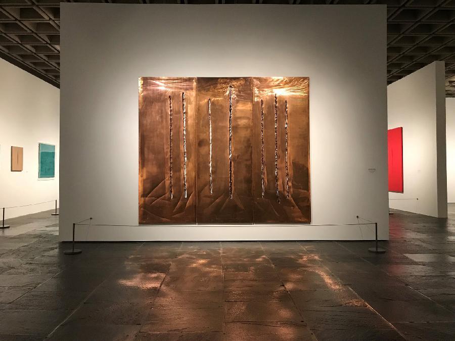 New York celebrates Lucio Fontana