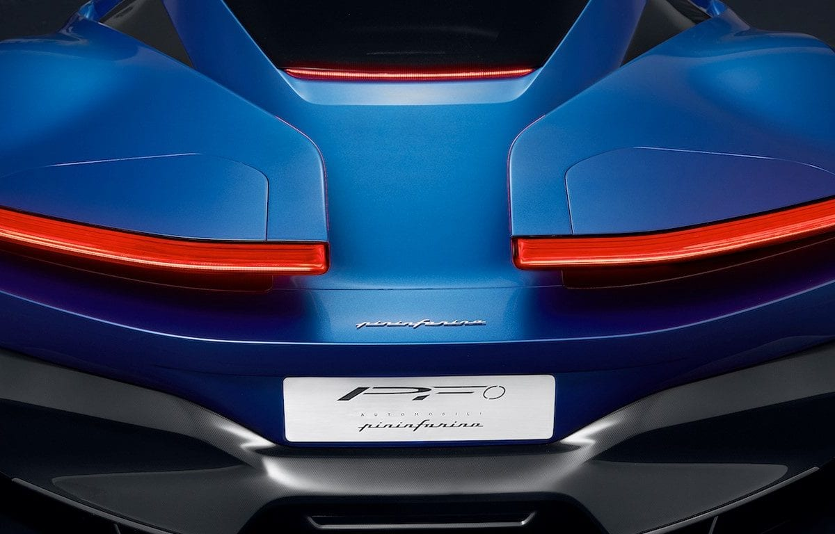 Battista, the new Pininfarina electric supercar