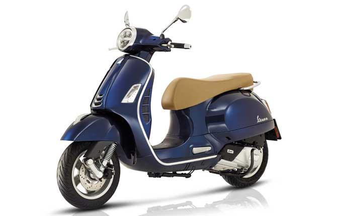 vespa germania germany italy italia motors motori scooter blue