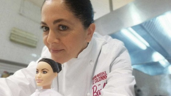 toy chef italy barbie doll food italian cooking