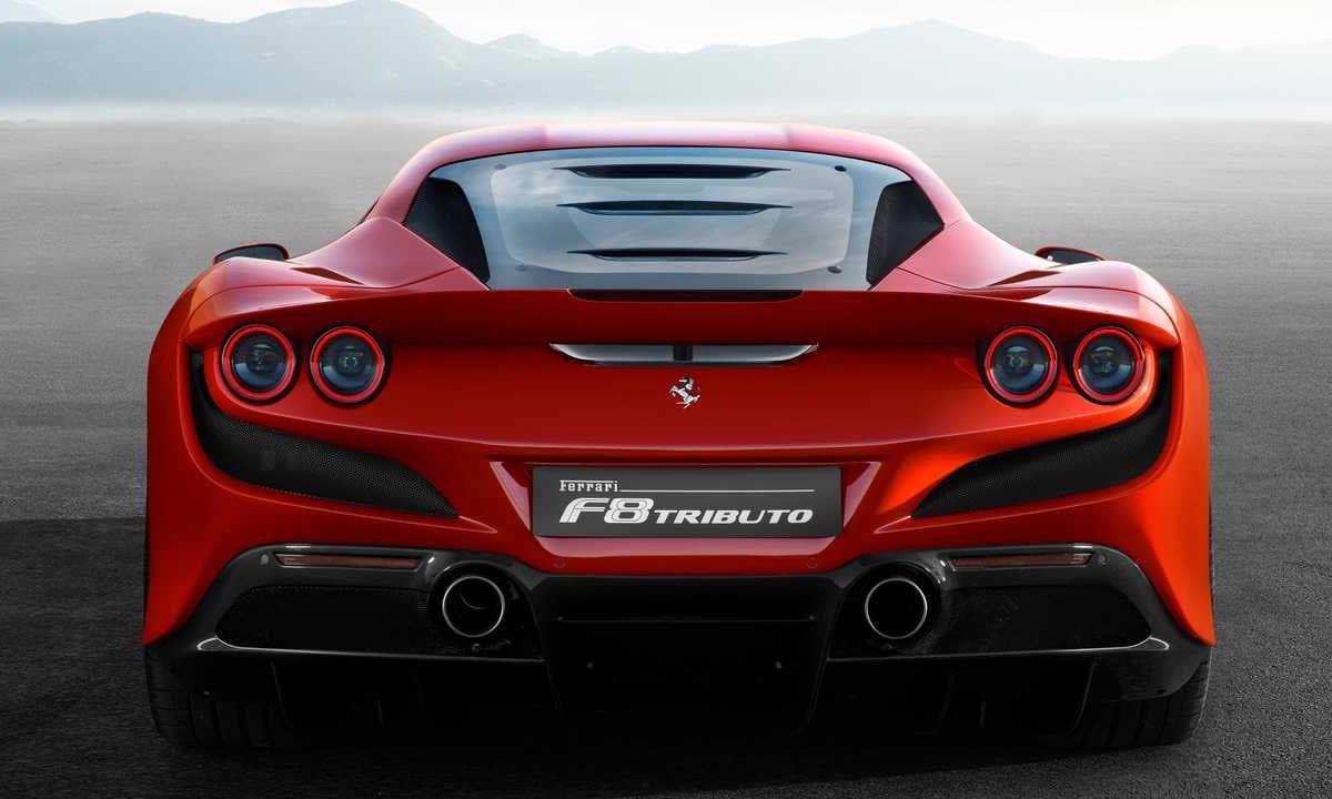 Ferrari revealed the F8 Tributo