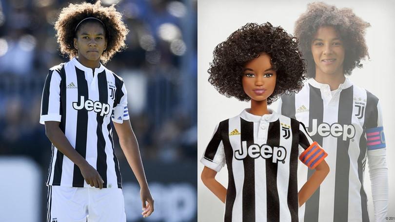 Sara Gama, soccer champion and captain of Juventus Women italy italian football female team