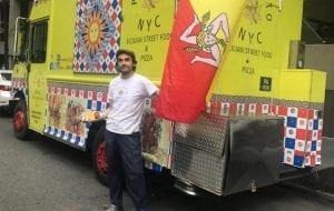 italian food truck new york street eat