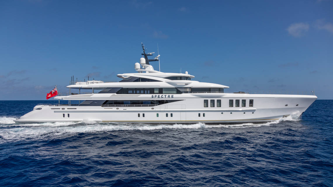 "Benetti M/Y ""Spectre"" is the World's Best Yacht"