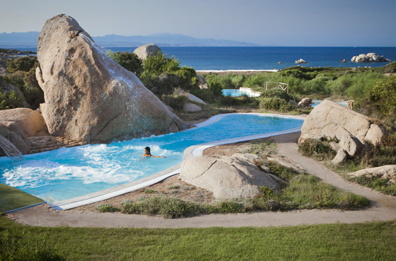 thermae sardinia white pool sun relax summer sardinia