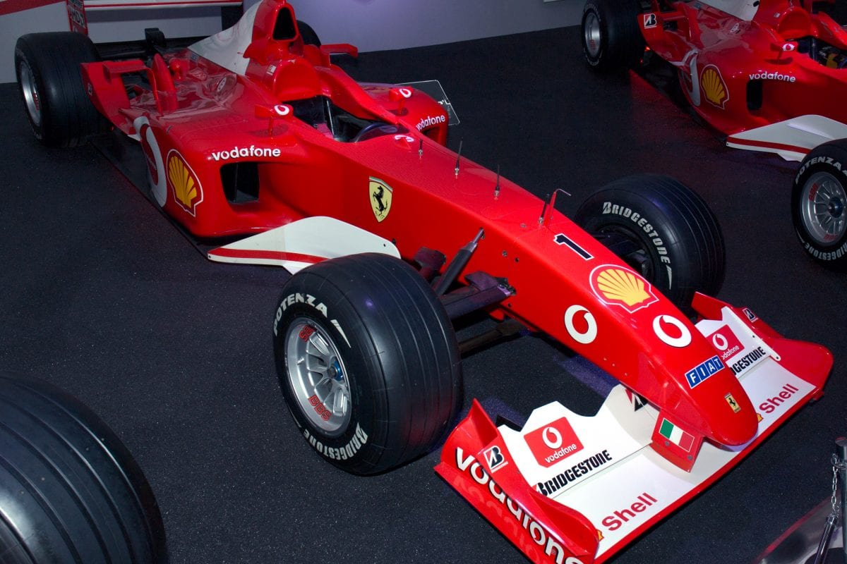 Schumacher's Ferrari F1 up for auction