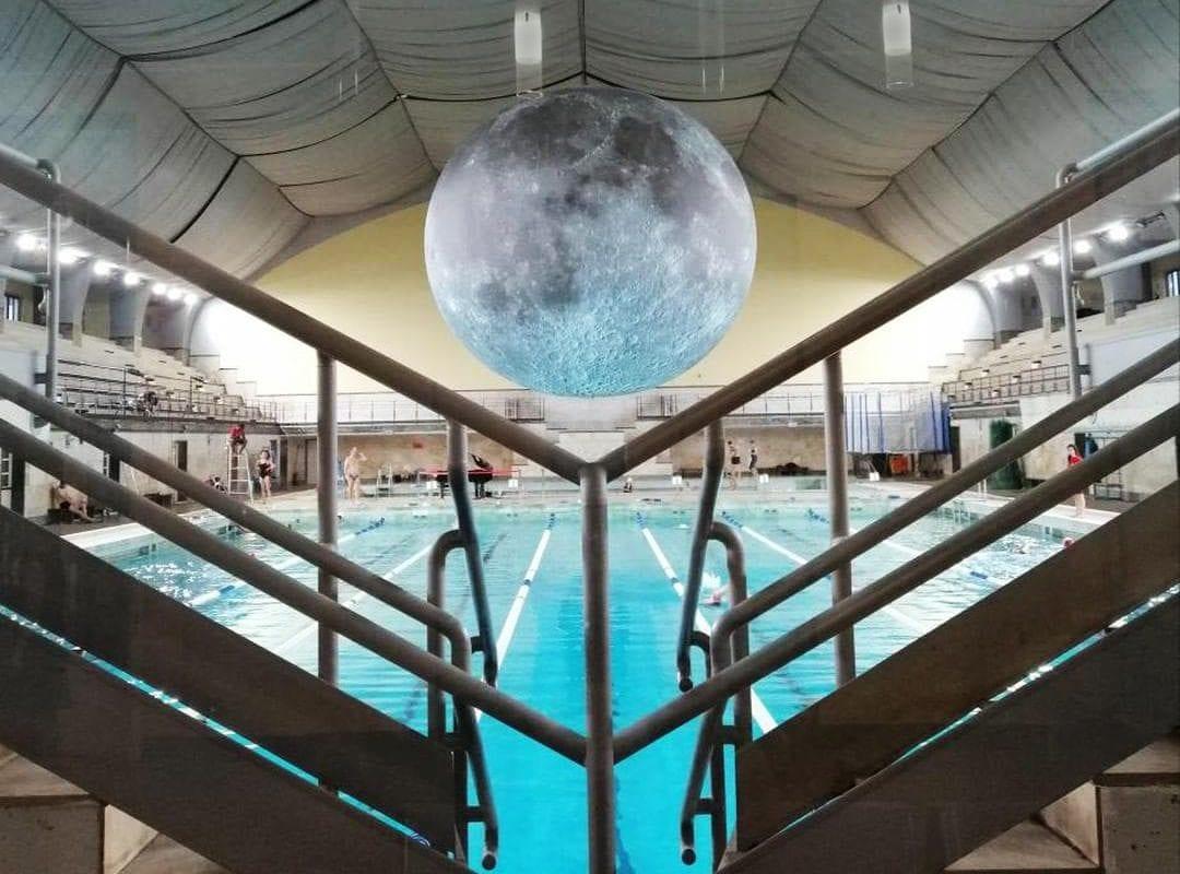Jerram's Majestic Moon in Milan