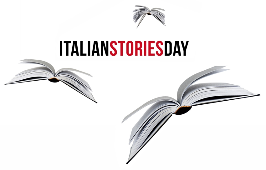 italian stories day book books italy logo