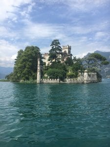 lake iseo lago italia lombardy italy travel tourism water castle island