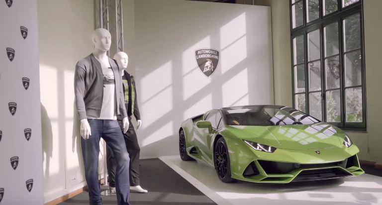 Lamborghini menswear at Pitti Uomo