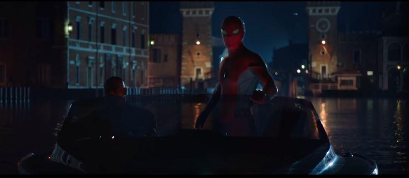 Spider-Man in Venice