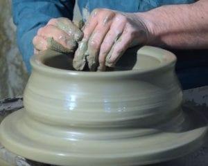 handmade ceramics clay artisan hand work