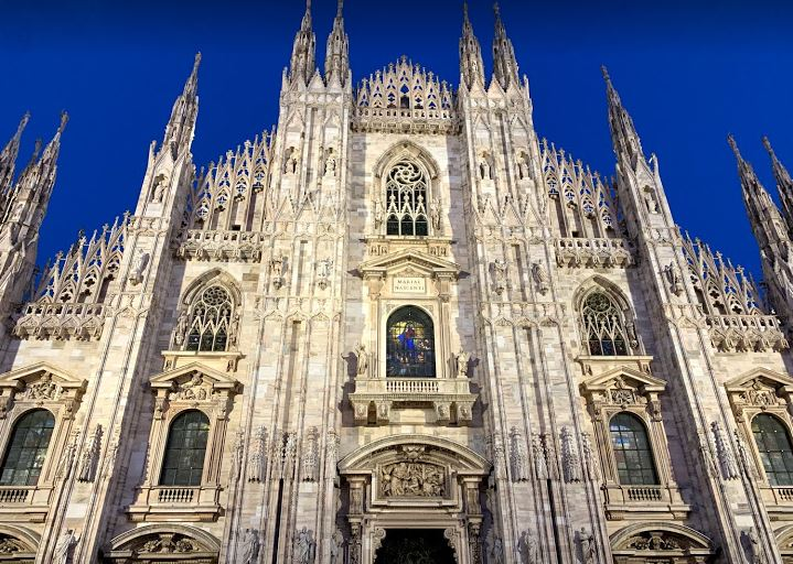 milan duomo cathedral milano church sky