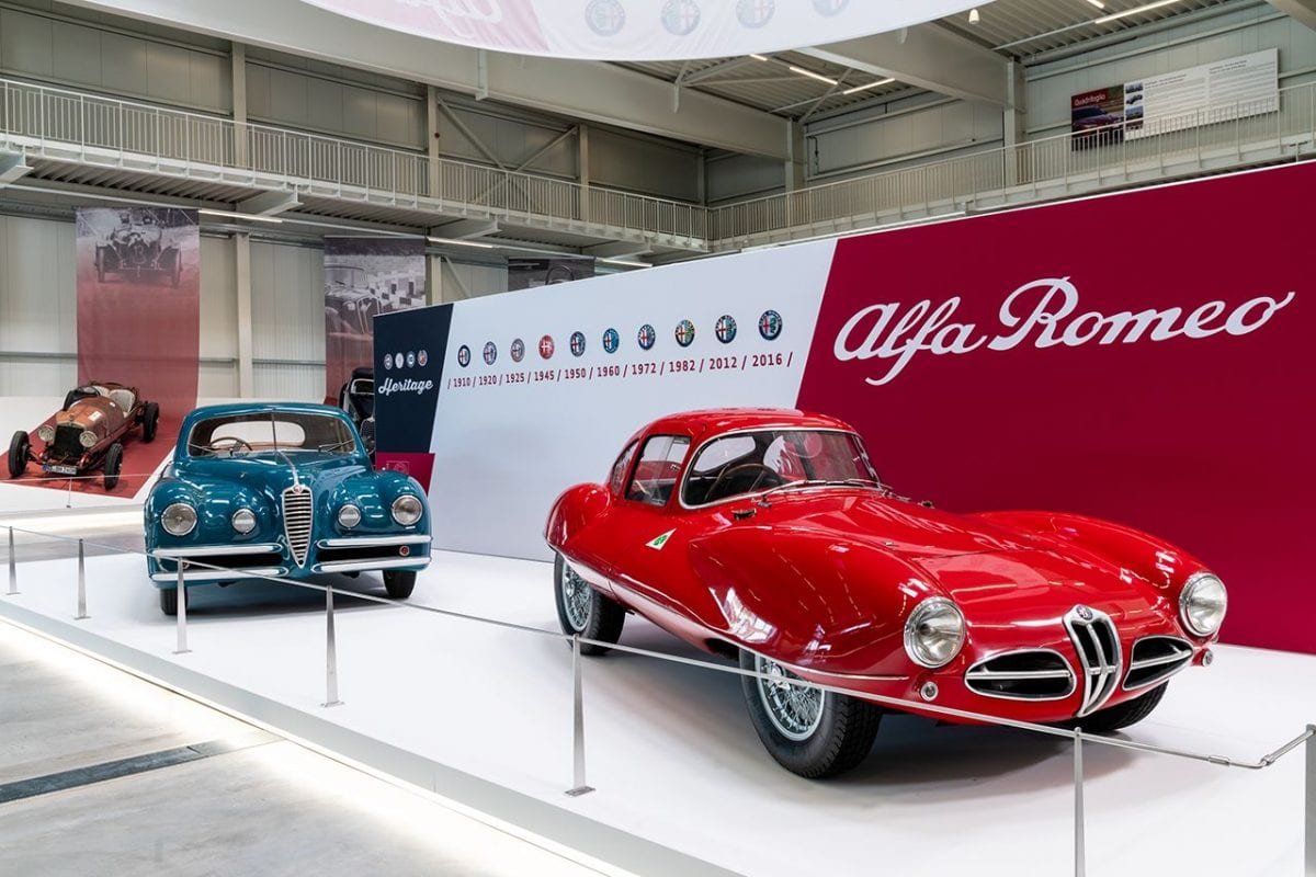 Alfa Romeo chosen to inaugurate a hall of the Technik Museum Sinsheim