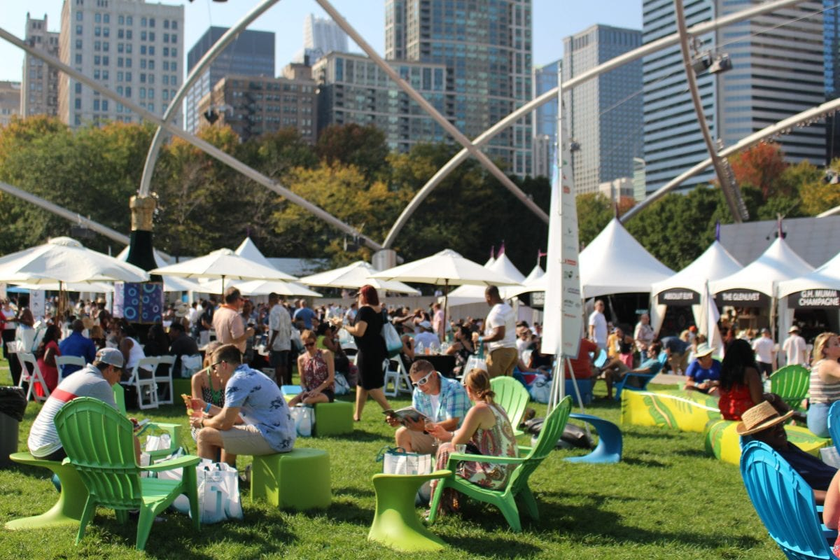 Food lovers heading to the Chicago Gourmet