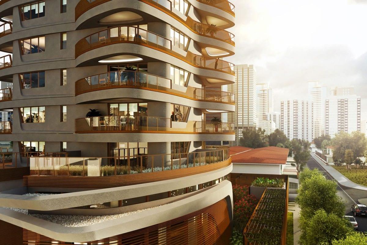 Heritage: Pininfarina's luxury skyscraper in San Paolo