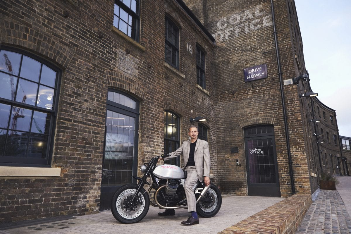 Moto Guzzi at the London Design Festival