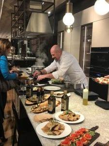 Chef Andrea Zanin for The Green fit project by Filippo Berio