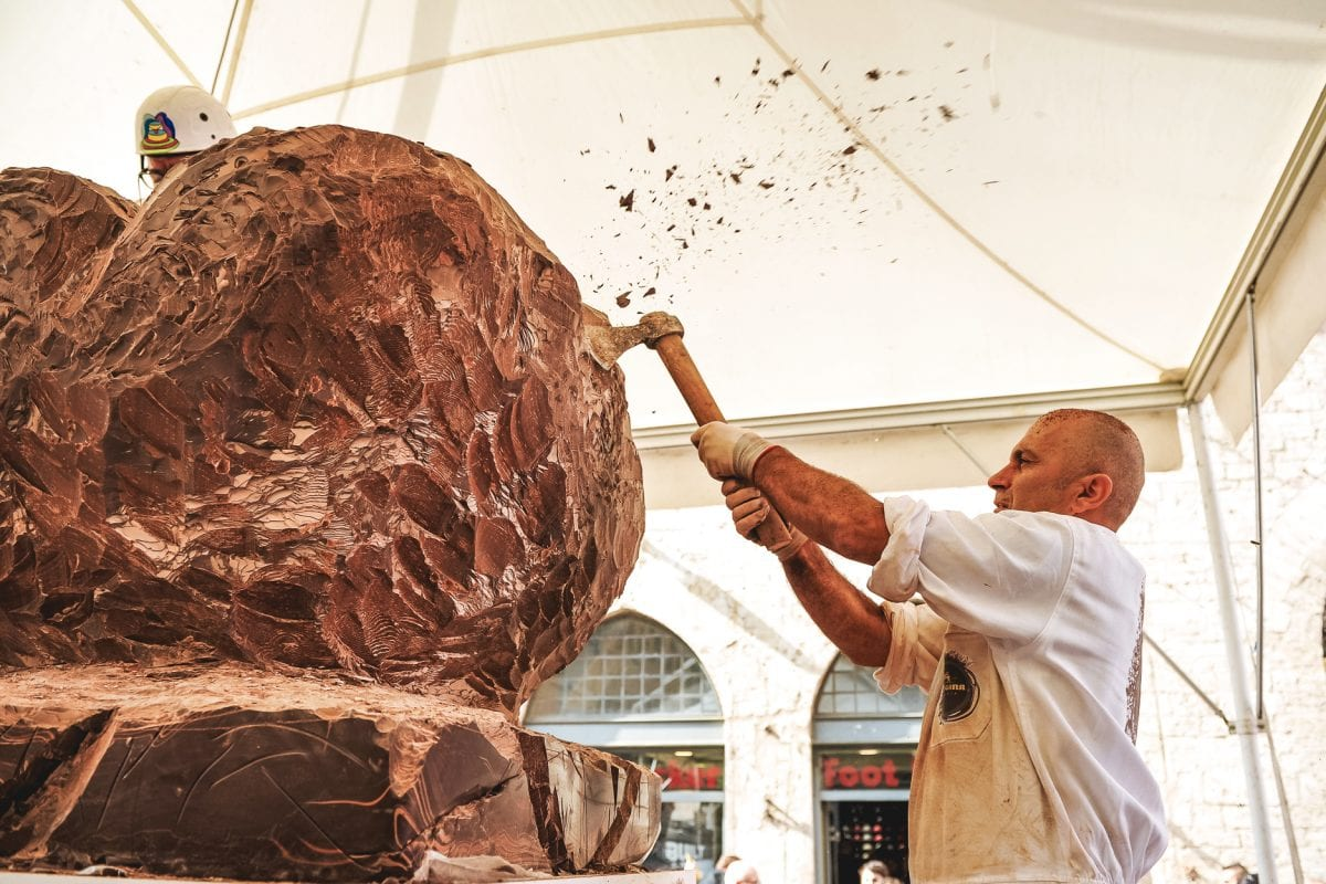 The most scrumptious Italian festival is dedicated to chocolate