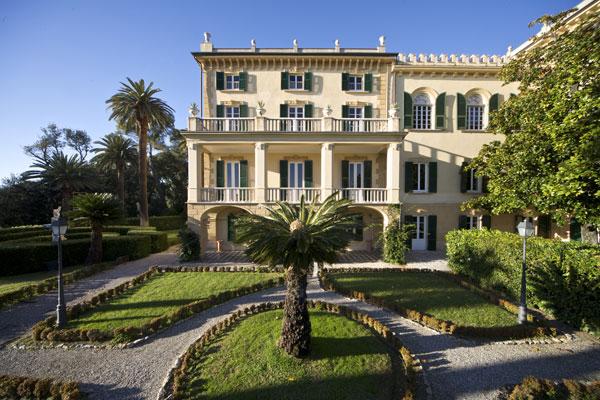 Villa Marigola and its wonderful gardens overlooking the Lerici bay