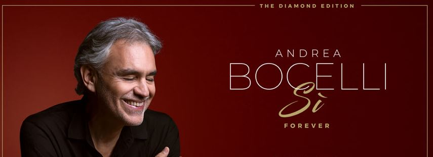 Bocelli received a nomination for the 2020 Grammy Awards