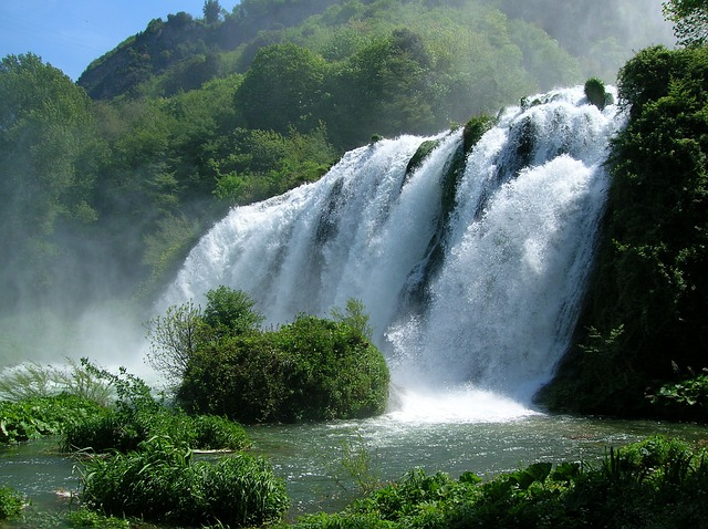 The Marmore Falls and their impressive views