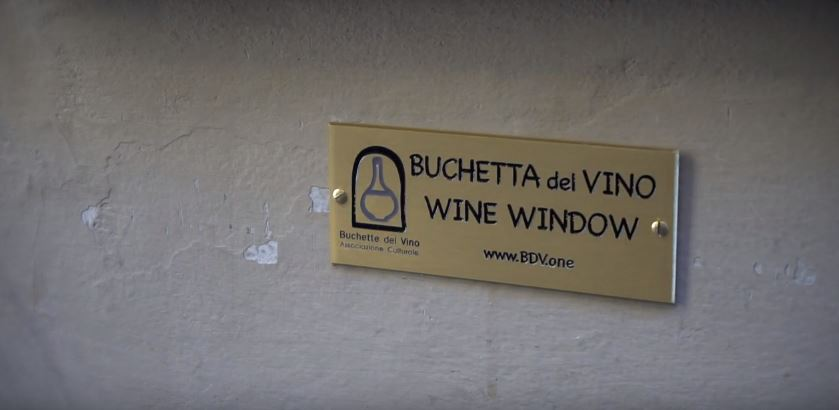 The little known Tuscan 'wine windows'