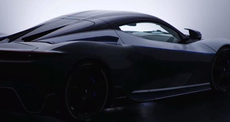 Pininfarina unveiled Battista Anniversario