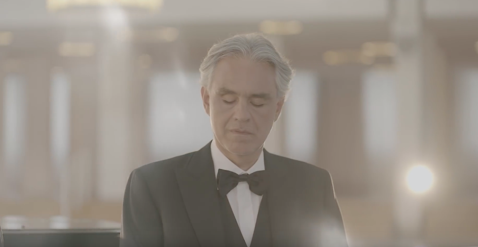 Bocelli Easter concert to be streamed live