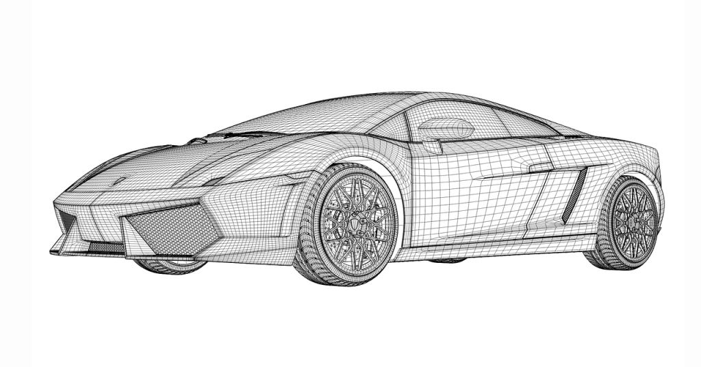 lamborghini-draw-project