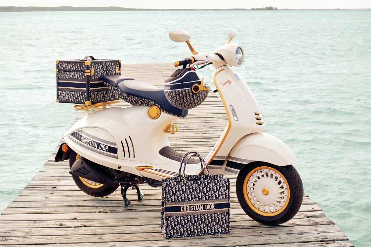 Vespa 946 Christian Dior: an ode to joie de vivre