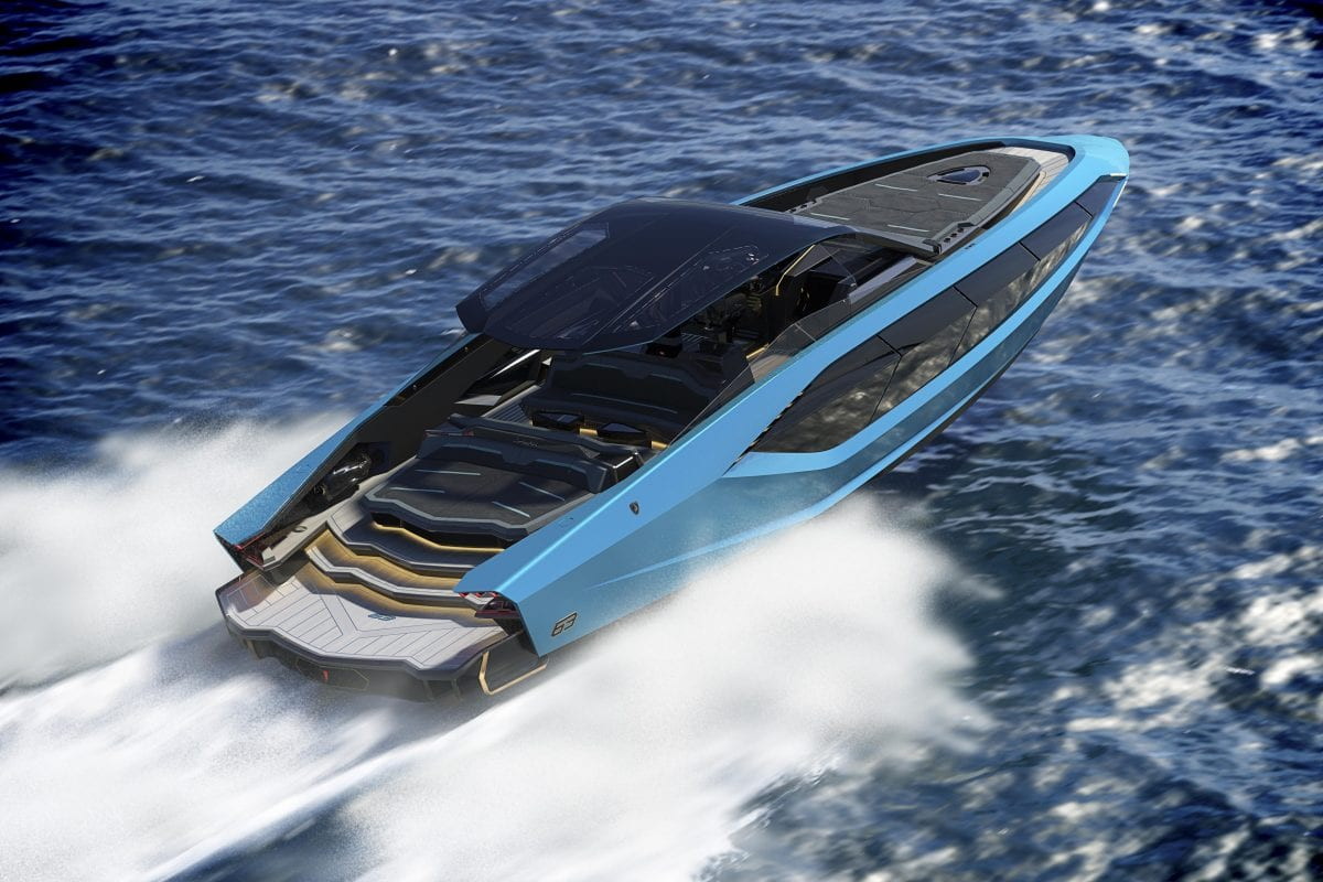 When super-cars meet super-yachts you get 'Tencomar for Lamborghini 63'