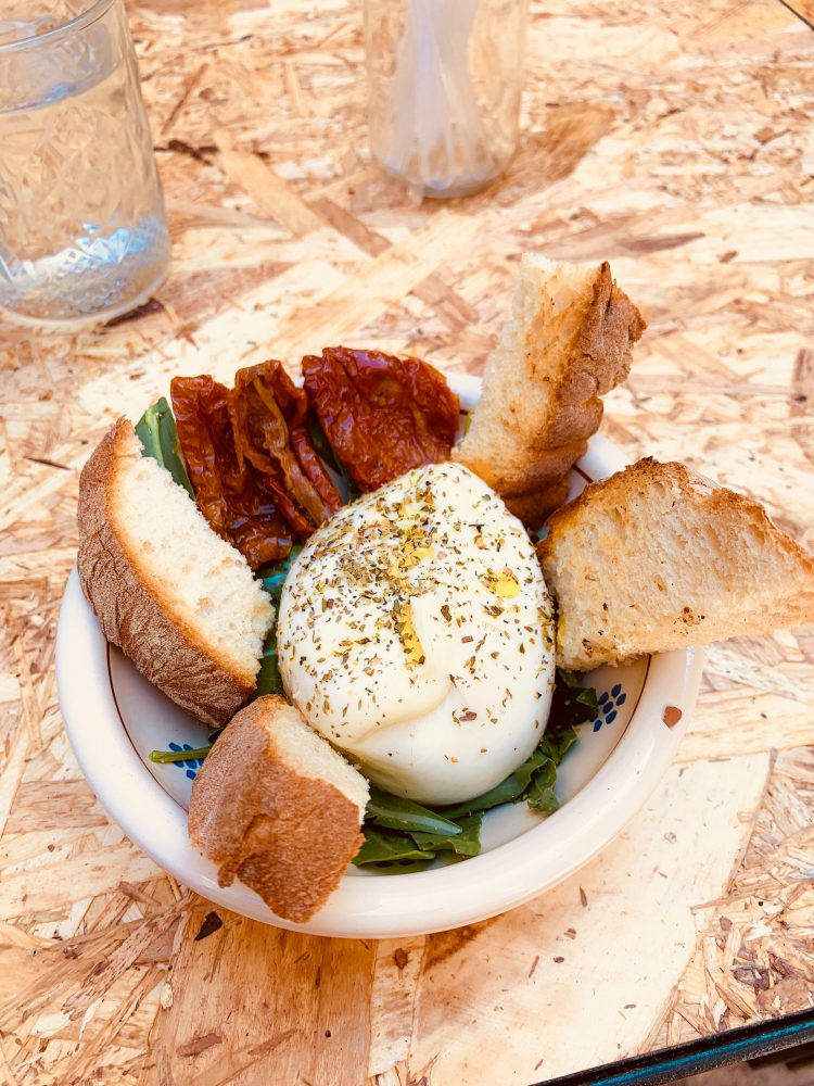 Buffalo mozzarella Neapolitan food